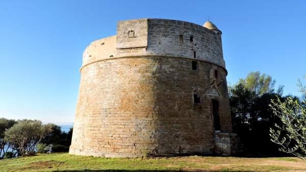 Una torre de defensa rehabilitada por el Consell de Mallorca
