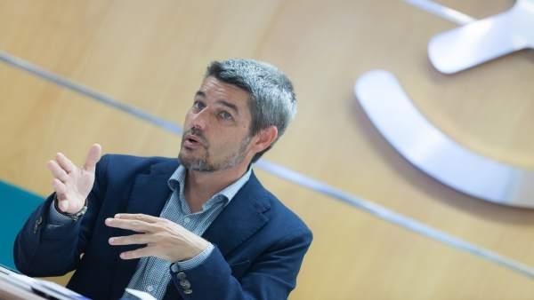 """Alberto Bernabé """"Hemos de continuar reforzando el peso de los alojamientos de cinco estrellas"""""""