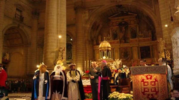 Los Reyes Magos en la Catedral