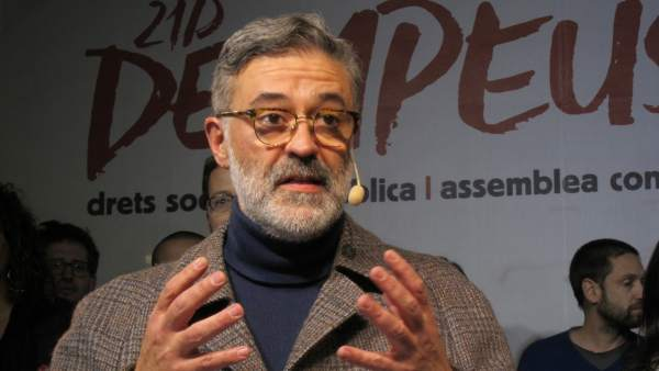 Carles Riera, CUP.
