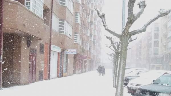 Nieve, frío, Castilla y León