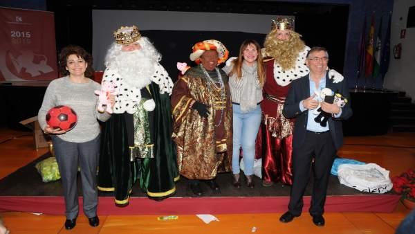 Los Reyes Magos visitan la Diputación de Córdoba