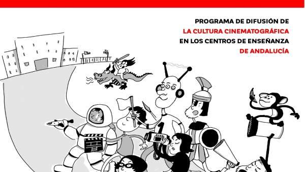 Aula de cine cartel consejería cultura