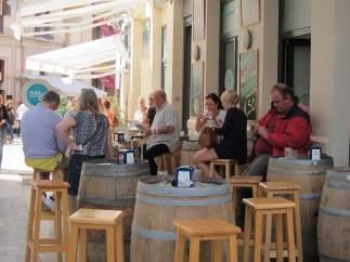 Terraza, bar, turismo, turistas, cerveza, establecimiento, restaurante, tapas