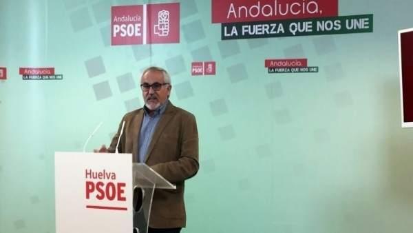 El parlamentario socialista Diego Ferrera.
