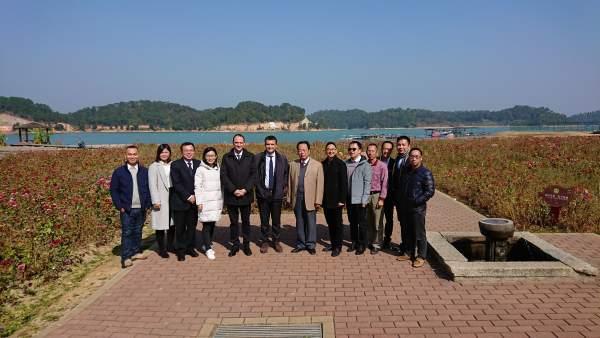 El director de Investigación del CITA en China