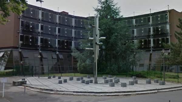 Fachada del TGI (Tribunal de Grande Instance) de Nancy, Francia