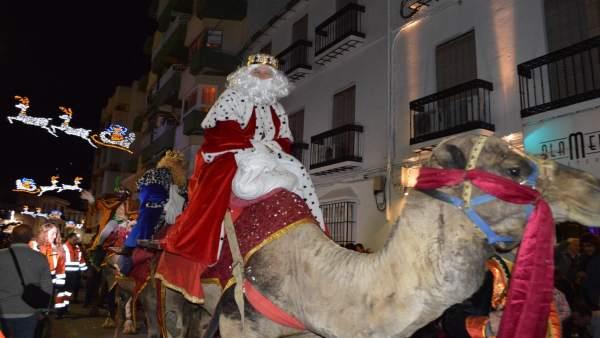 Cabalgata de Reyes Magos en Coín