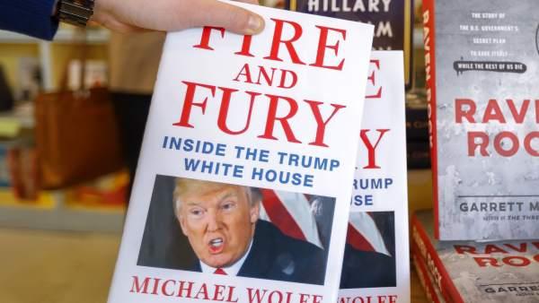 Polémico libro sobre Trump