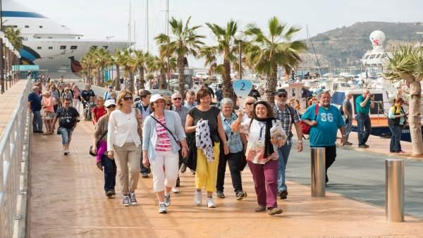 Oleada de turistas