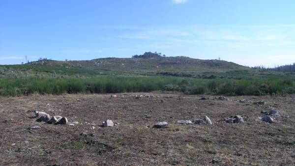 Monte Lobeira en Galicia