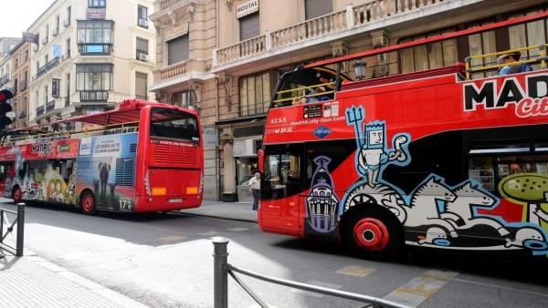 Autobús turístico de Madrid, turismo, turista, turistas