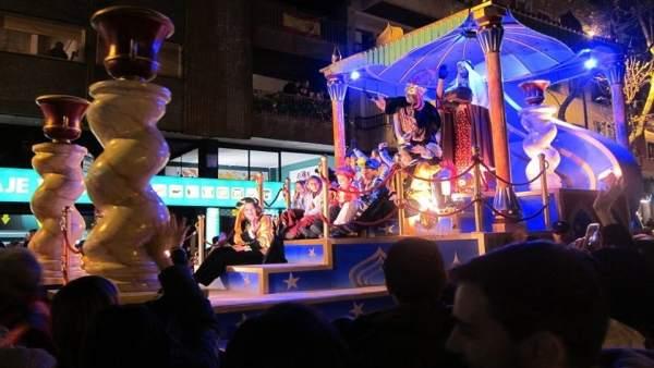 Cabalgata de Reyes de Zaragoza.