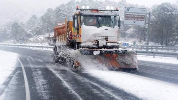 Temporal de nieve en Andalucía