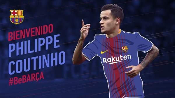 Coutinho, jugador del FC Barcelona