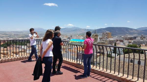 Terraza del Centro Cultural Baños Árabes de Jaén