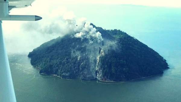 Isla Kadovar en Papúa Nueva Guinea