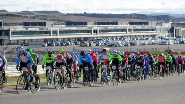 Pasaje de la prueba de Ciclismo de La Invernal, en 2016.