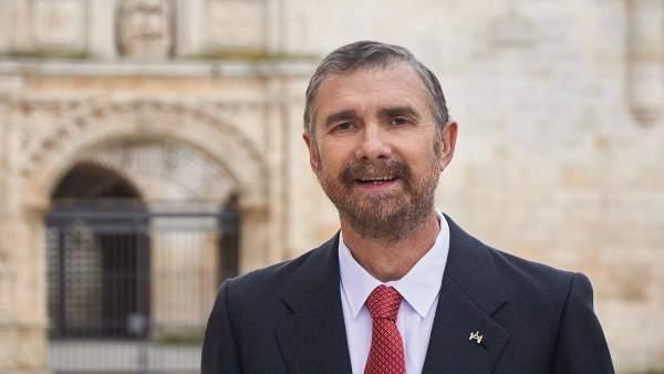 Burgos.- Manuel Pérez Mateos, rector de la UBU