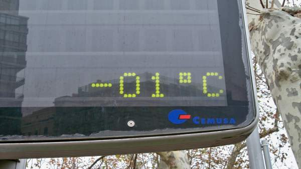 Termómetro, frío