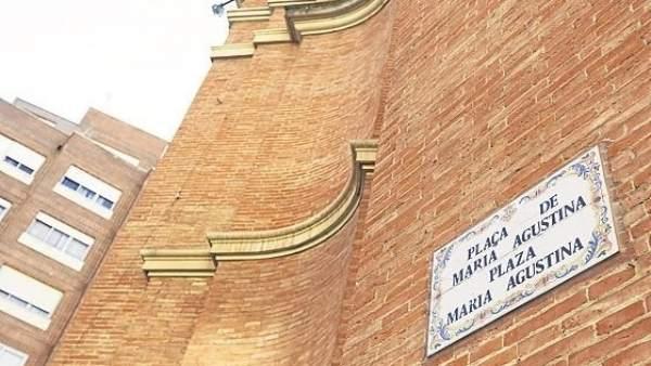 Calle de Castellón en las dos lenguas