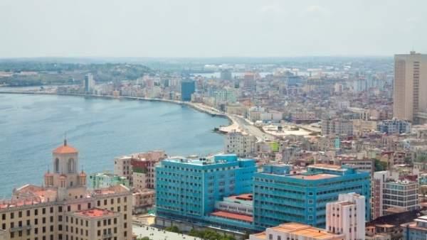 Vista aérea de La Habana (Cuba)