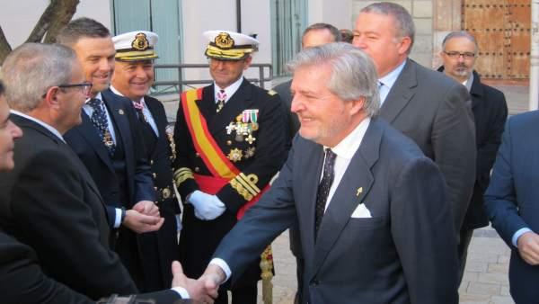 El ministro de Cultura, Educación y Deporte, Méndez de Vigo