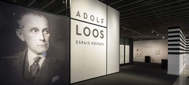 Entrada de la exposición 'Adolf Loos. Espacios Privados'