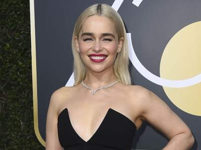 Emilia Clarke, rubia platino