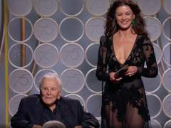 Kirk Douglas y Catherine Zeta-Jones
