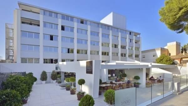 Fachada del nuevo Innside en Palma