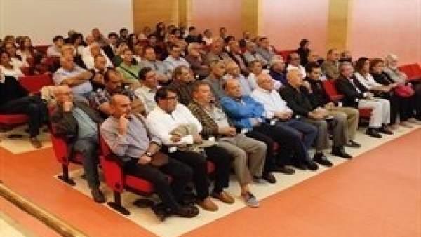 Los acusados en el juicio del llamado 'caso Alhambra'