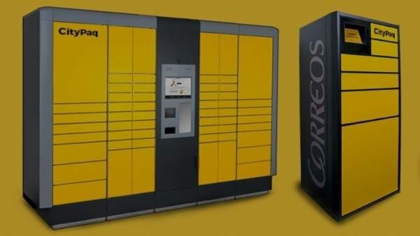 Correos afronta la paquetería del comercio electrónico con 73 CityPaq