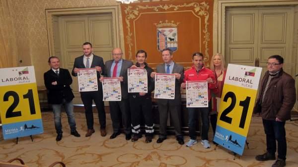 Presentación de la Media Maratón