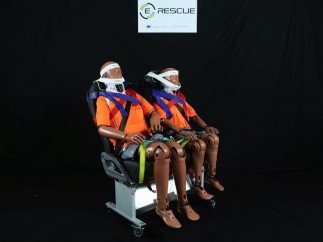 Patente de E-Rescue para rescatar personas en autobuses
