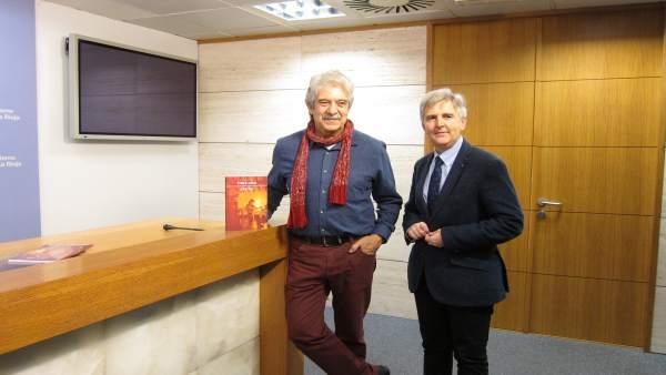 Purón y Osés en la presentación libro del compositor