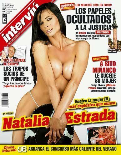 Foto Natalia Estrada Portadas Míticas De Interviú