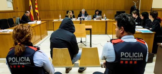 Juicio al supuesto violador del Eixample en la Audiencia de Barcelona.