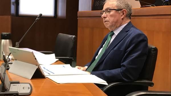 El consejero de Hacienda y Administración Pública del Gobierno, Fernando Gimeno.