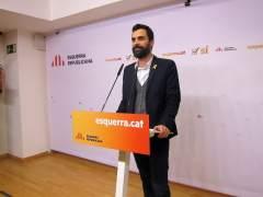 ERC propone a Roger Torrent como candidato a presidente del Parlament