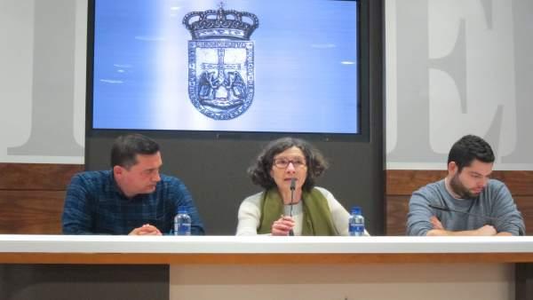 Rueda de prensa presupuesto Oviedo
