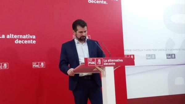 Tudanca tras la primera reunión de la Ejecutiva del PSOE