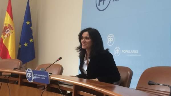 La viceportavoz parlamentaria del PPdeG, Paula Prado