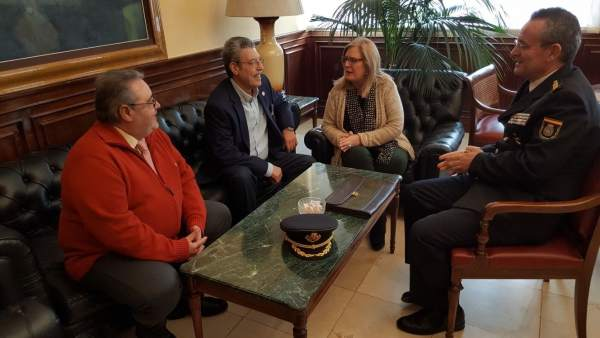 Reunión con la Agrupación de Cofradías de Jaén