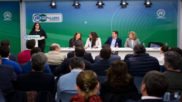 Virginia Pérez, hoy ante la Junta Directiva del PP-A