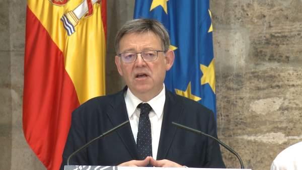 Puig exigeix al Govern que pague ja els 1.500 milions de la liquidació de 2016 i no al juliol