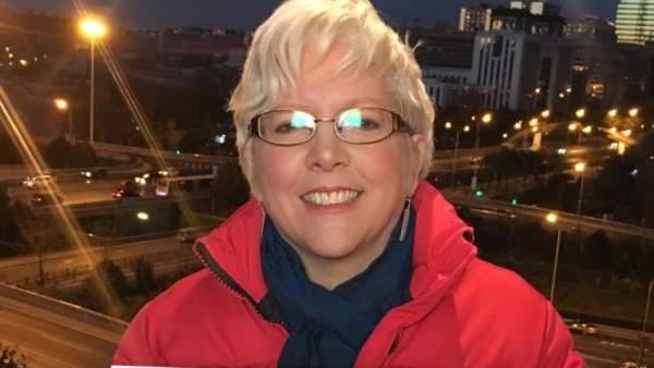 La expresentadora de la BBC Carrie Gracie