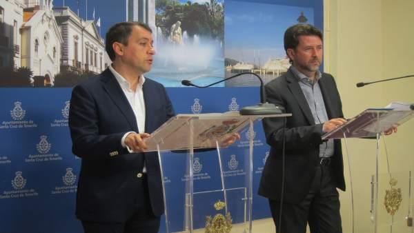 José Manuel Bermúdez y Carlos Alonso