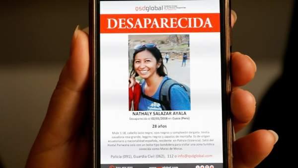 La Policia de Perú inicia la cerca de la valenciana desapareguda durant un viatge