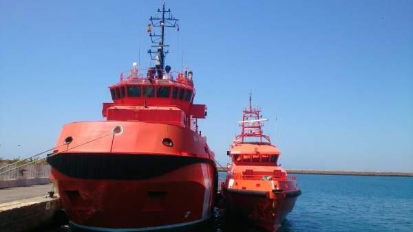 Servicio de Salvamento Marítimo en Almería